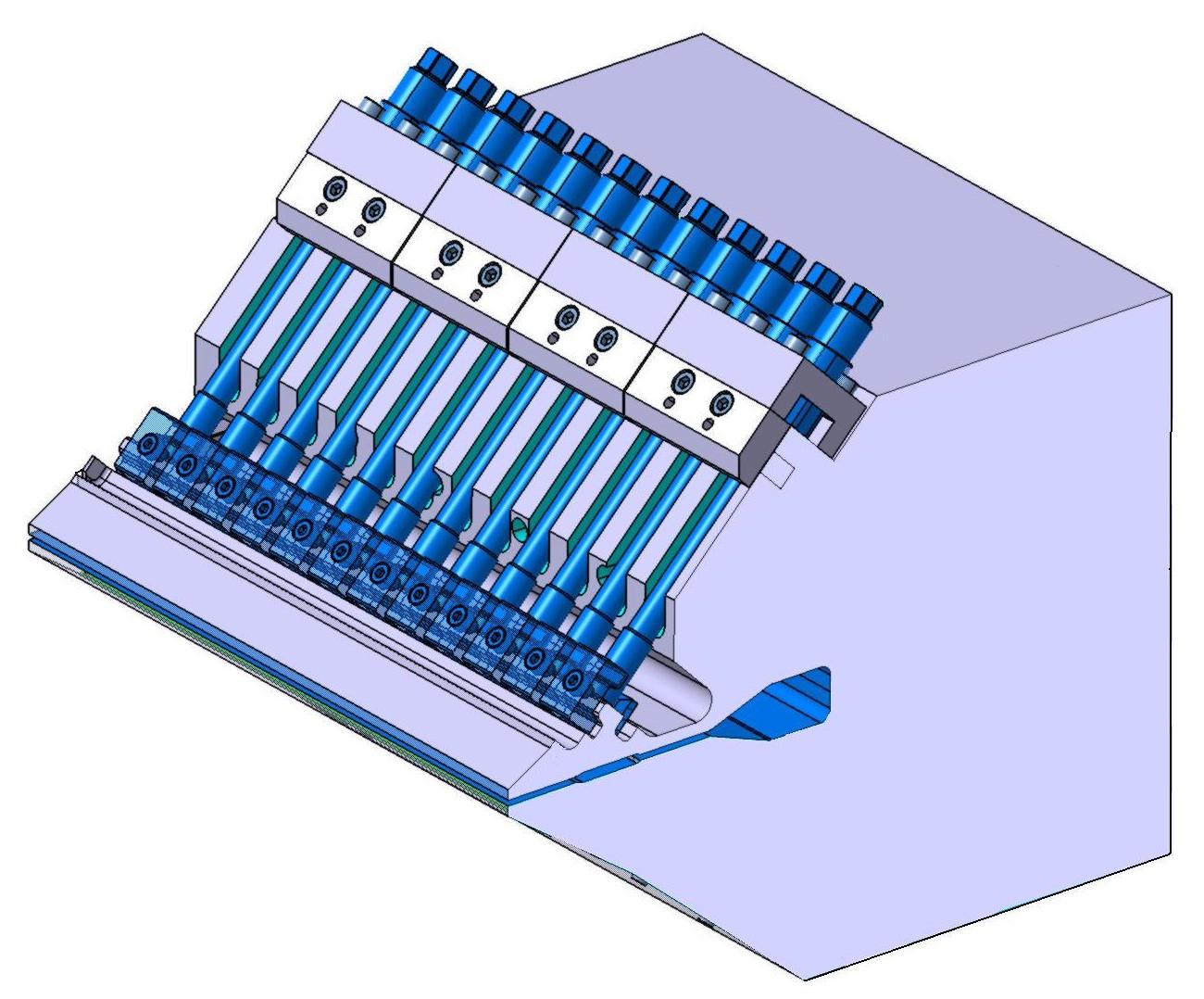 Opzione viti tiranti-prementi micrometriche