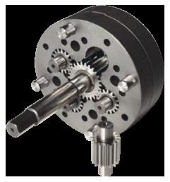 Quadruple spinning pump 1,8 cc/rev.