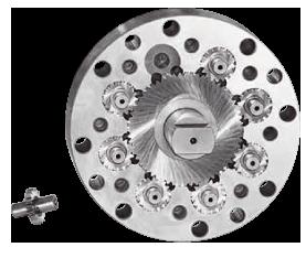Pompa di filatura a 8 ingranaggi  da 1,12 cc./giro